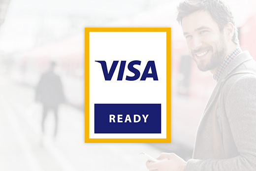 With its cVEND terminal family, FEIG has become a partner of the Visa Ready for Transit program